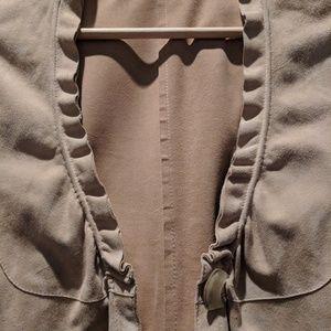 Giorgio Armani Jackets & Coats - Giorgio Armani suede jacket/top!!! So fun